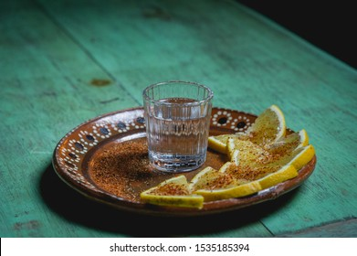 bar drinks  classic way to serve mezcal