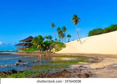 A bar at Dunes of Genipabu in Natal, Brazil