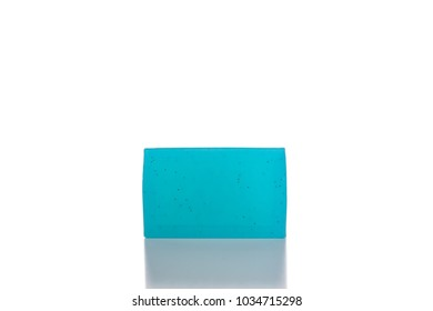 Bar of Natural Soap Isolated on a White Background