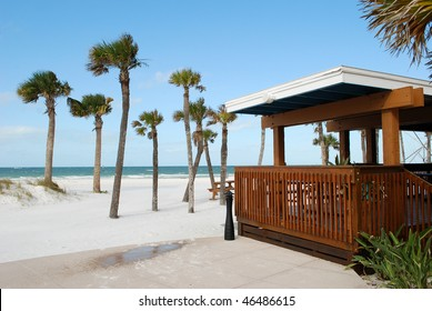 Bar on Clear Water Beach, Florida, USA
