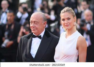Bar Refaeli  attends the opening ceremony and 'La Tete Haute' premiere during the 68th annual Cannes Film Festival on May 13, 2015 in Cannes, France.