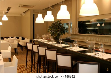 Bar and restaurant space