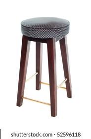 Bar stool isolated on white background