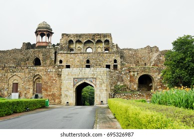 Bara Darwaza interior at Purana Qila, New Delhi