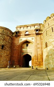 Bara Darwaza at Purana Qila, New Delhi