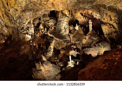 Baradla Cave in Hungary. In Cave
