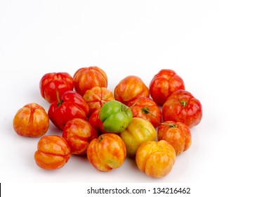 Barbados cherry (Malpighia glabra L.)