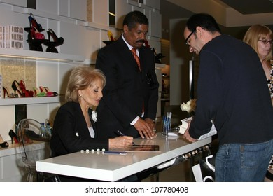 """Barbara Walters  at an instore signing of her new book """"Audition"""". Saks Fifth Ave, Beverly Hills, CA. 05-12-08"""