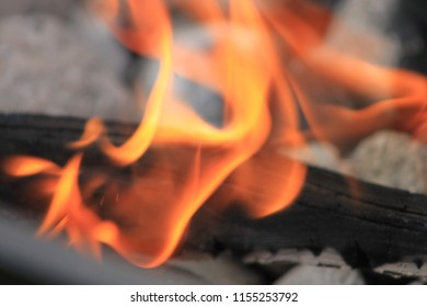 barbecue fire starting