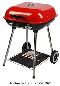 Barbecue grill.