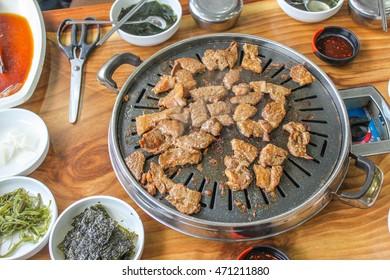 Barbecue Korean food