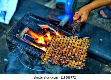 DEL Baskets Flame