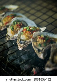 Barbecue oysters image