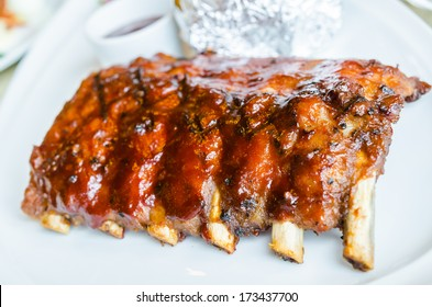 barbecue pork spareribs