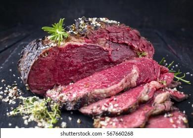 Barbecue Wagyu Entrecote Steak - Very Rare
