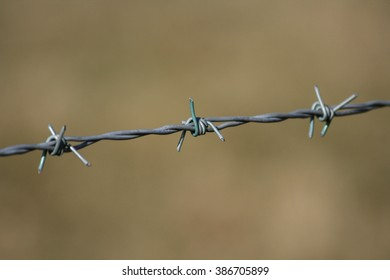 Barbed Wire, Danger, No Entry