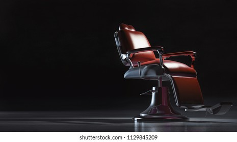 Barber chair background