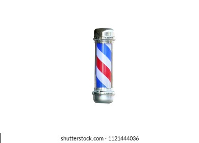 Barber's pole isolated