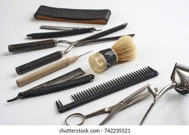 Barbers Tools. Vintage