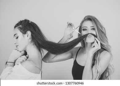 Fabulous Lesbian Haircut Images Stock Photos Vectors Shutterstock Natural Hairstyles Runnerswayorg
