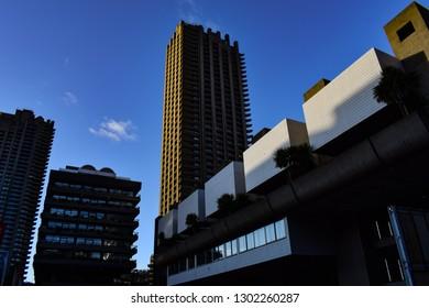 Barbican in the sunshine