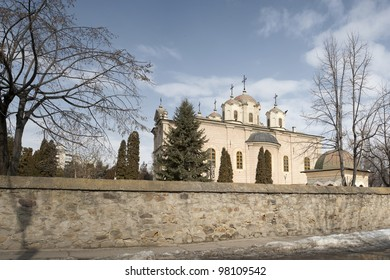 Barboi orthodox church from Iasi, Romania. South view