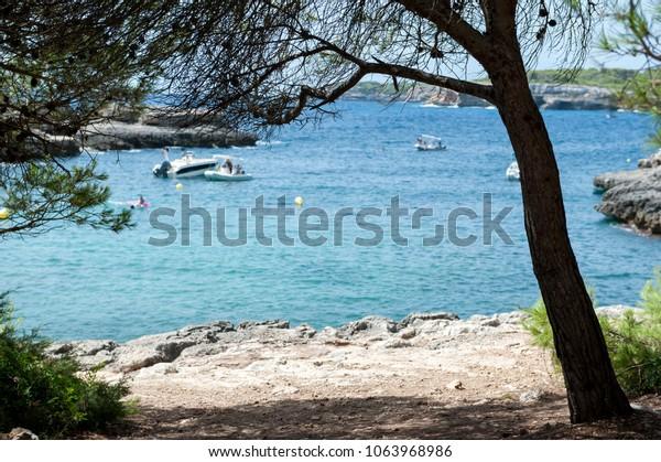 Barca Trencada bay in Majorca