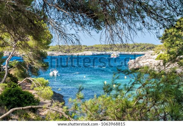Barca Trencada beach in Majorca