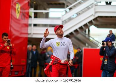 Barcellona (Spain), Italy, February 27 2020 sebastian vettel during Pre-season Testing 2020 Formula 1 Championship