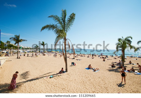Barcelona Beach, Spanien