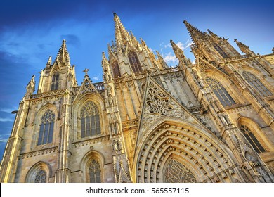 Barcelona Cathedral, Ghotic Quarter, Catalonia, Spain
