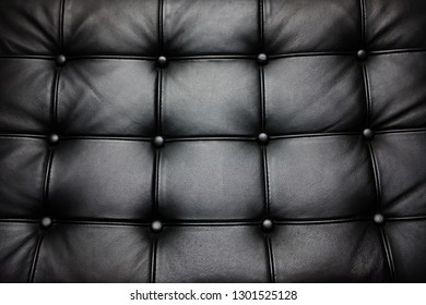 barcelona chair texture close up