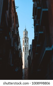 Barcelona city in december