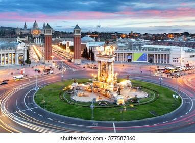 Barcelona - Espana square, Spain
