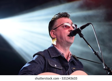 BARCELONA - JUN 4: Richard Hawley (band) perform in concert at Primavera Sound 2016 Festival on June 4, 2016 in Barcelona, Spain.