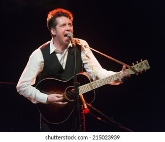 BARCELONA - JUNE 05: american singer Joe Henry playing at the Luz  de Gas on June 05, 2014 in Barcelona, Spain.