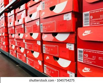 47f2463430de8 BARCELONA - MAR 13  Inside of the Nike Store at La Roca Village (Chic