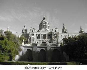 barcelona museum building