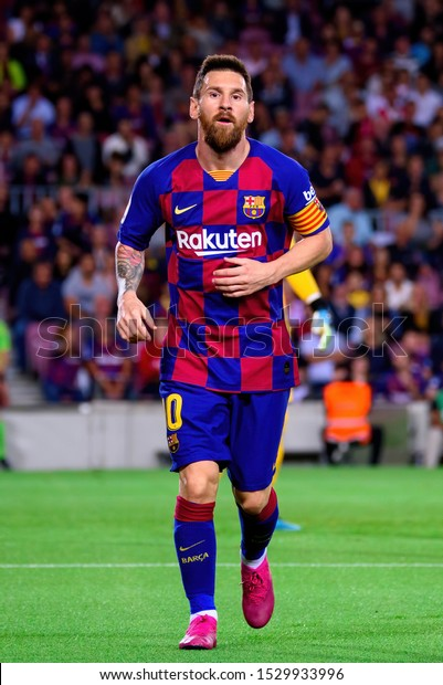 Barcelona Oct 6 Lionel Messi Plays Stock Photo Edit Now 1529933996