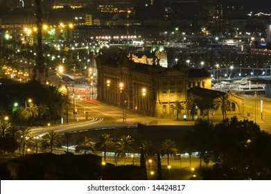 Barcelona on the night