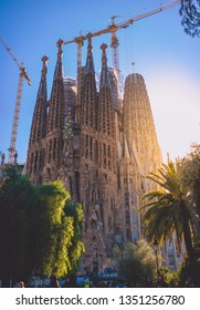 Barcelona, Spain, 2019. Sagrada Familia