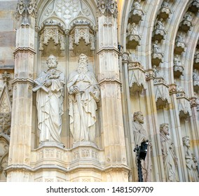 BARCELONA, SPAIN- DECEMBER 14, 2011: Cathedral (La Seu) of Barcelona, Spain