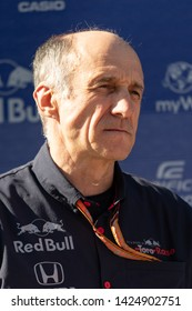 Barcelona, Spain, Feb 26th, 2019 - Scuderia Toro Rosso Team Principal Franz Tost portrait during F1 Test at Circuit de Catalunya.