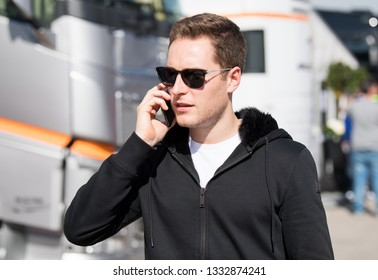 BARCELONA, SPAIN  FEBRUARY 26, 2019: Stoffel Vandoorne during Formula One Test days at Circuit of Barcelona-Catalunya.