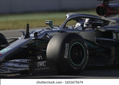 Barcelona (Spain), Italy, February 20 2020 lewis hamilton (gbr) mercedes amg f1 w11 during Pre-season Testing 2020  Formula 1 Championship