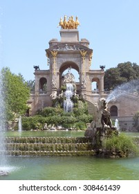 BARCELONA, SPAIN - JULY 12, 2015: Carro de la Aurora in Ciutadella park in Barcelona, Spain.