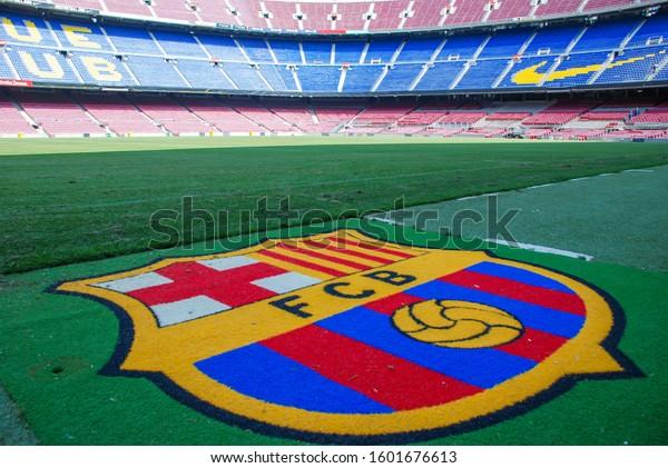 Barcelona Spain July 2013 Fc Barcelona Stock Photo Edit Now 1601676613