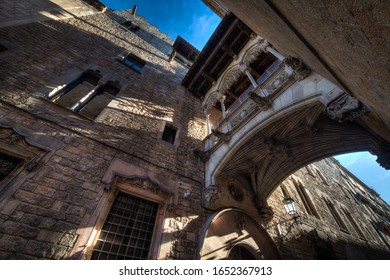 Barcelona's Gothic Quarter and the Bridge of Sighs