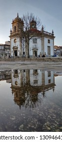 Barcelos downtown church, Sr. da Cruz.