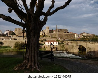 Barcelos historical site in the afternoon, Portugal.